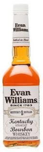 Evan Williams Bourbon Bottled-In-Bond White Label 1.00l